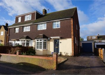 Thumbnail 3 bed semi-detached house for sale in The Avenue, Aylesford