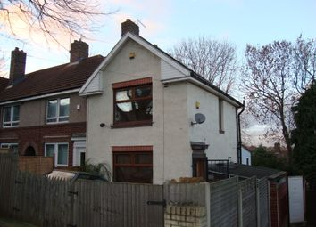 Thumbnail 2 bed end terrace house to rent in Kinnaird Road, Sheffield