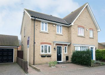 Thumbnail 3 bed semi-detached house to rent in Reculver Road, Beltinge, Herne Bay, Kent