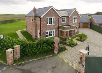 Thumbnail 6 bed detached house for sale in Northwich Road, Lower Whitley, Warrington