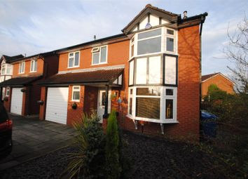 Thumbnail 4 bed detached house for sale in Woolmer Close, Birchwood, Warrington