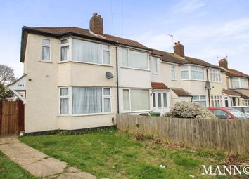Thumbnail 2 bed end terrace house to rent in Radnor Avenue, Welling