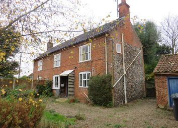 Thumbnail 3 bedroom semi-detached house for sale in The Street, Brinton, Melton Constable