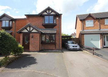 Thumbnail 3 bed detached house for sale in The Poplars, Earl Shilton, Leicester