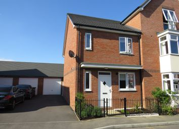 Thumbnail 3 bed semi-detached house for sale in Laing Close, Rugby
