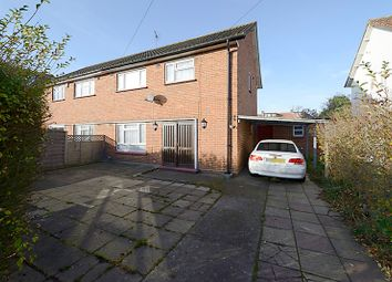 Thumbnail 3 bed semi-detached house for sale in Canterbury Road, Feltham, Middlesex
