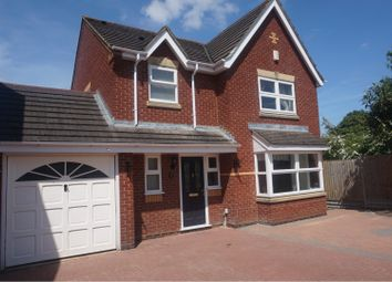 Thumbnail 4 bed detached house for sale in Lowbury Court, Northampton