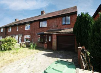Thumbnail 3 bed semi-detached house for sale in Holylake Square, Sunderland, Tyne And Wear