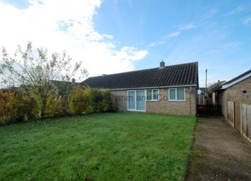 Thumbnail 2 bed bungalow to rent in Sheffield Road, Wymondham