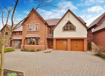 Thumbnail 4 bed detached house for sale in Wigan Road, Euxton, Chorley