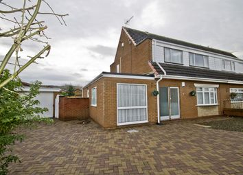 Thumbnail 3 bed semi-detached house for sale in Cedar Road, Ormesby, Middlesbrough