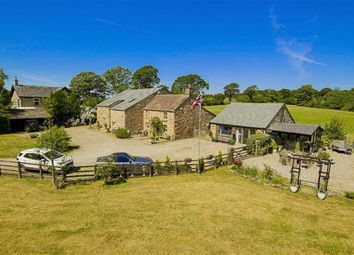 Thumbnail 8 bed farmhouse for sale in Talbot Bridge, Clitheroe, Lancashire