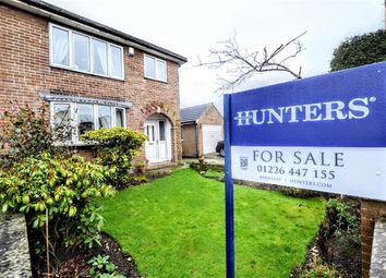 Thumbnail 3 bed semi-detached house for sale in Queens Drive, Cudworth, Barnsley, South Yorkshire