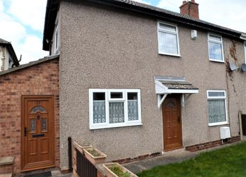 Thumbnail 2 bed semi-detached house for sale in Crescent Road, Havercroft, Wakefield