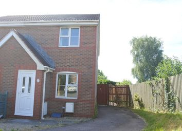 Thumbnail 2 bed semi-detached house to rent in St Teilo Court, Undy, Caldicot