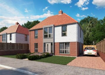 Thumbnail 4 bed detached house for sale in Willesborough Road, Kennington, Ashford