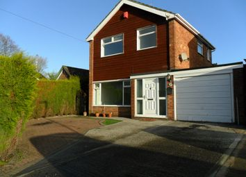 Thumbnail 3 bed link-detached house to rent in Brooklands Road, Congleton
