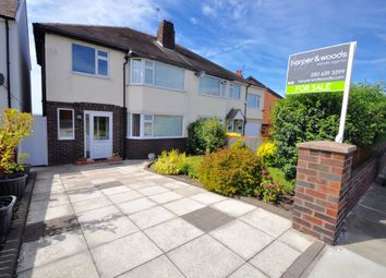 Thumbnail 3 bed semi-detached house for sale in Claremount Road, Wallasey