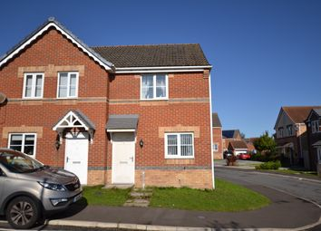 Thumbnail 2 bed end terrace house to rent in Balmoral Drive, Catchgate, Stanley, County Durham