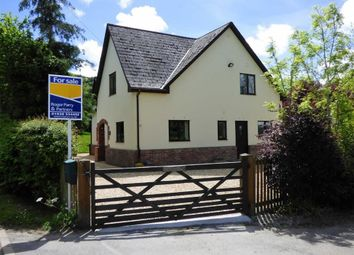 Thumbnail 5 bed detached house for sale in Leighton, Welshpool