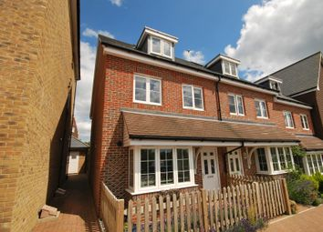 Thumbnail 4 bedroom end terrace house to rent in Allington Close, Farnham, Surrey