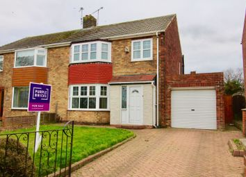 Thumbnail 3 bed semi-detached house for sale in King Oswy Drive, Hartlepool