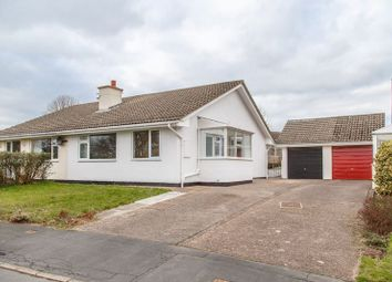 Thumbnail 2 bedroom semi-detached bungalow for sale in Four Oaks Road, Tedburn St. Mary, Exeter