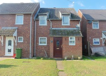 Thumbnail 3 bed semi-detached house for sale in Salmons Way, Fakenham