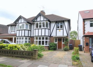 Thumbnail 3 bed semi-detached house to rent in Queen Elizabeths Drive, London