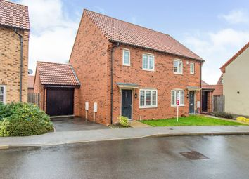 Thumbnail Semi-detached house for sale in Baker Avenue, Gringley-On-The-Hill, Doncaster