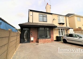 Thumbnail 4 bed semi-detached house for sale in Crosswells Road, Oldbury