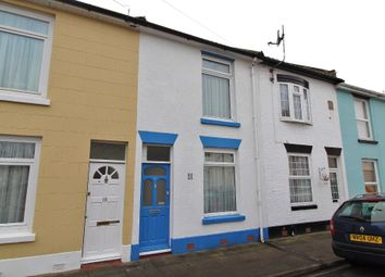 Thumbnail 2 bed terraced house for sale in Worsley Street, Southsea