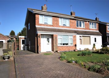 Thumbnail 3 bed detached house for sale in Kirkhill Close, Coalville