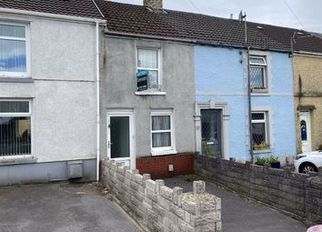 Thumbnail 2 bed terraced house for sale in Swansea Road, Waunarlwydd, Swansea