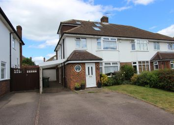 Thumbnail 4 bed semi-detached house for sale in Tile Kiln Crescent, Leverstock Green, Hertfordshire