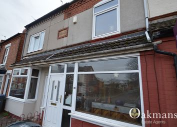 Thumbnail 2 bedroom terraced house for sale in Milner Road, Birmingham, West Midlands.