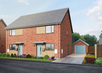 Thumbnail 2 bedroom semi-detached house for sale in Swans Nest, Brandon Road, Swaffham