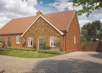 Thumbnail 2 bedroom semi-detached bungalow for sale in Chalk River Road, Hunstanton