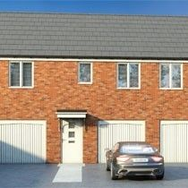 Thumbnail 2 bedroom maisonette for sale in Harvills Grange, Dial Lane, West Bromwich