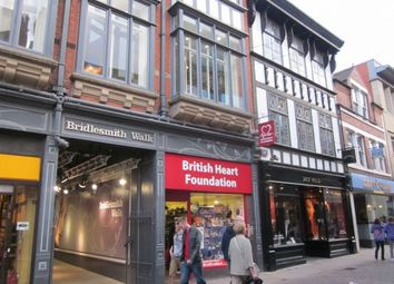 Thumbnail Retail premises to let in 15 Bridlesmith Gate, Bridlesmith Gate, Nottingham