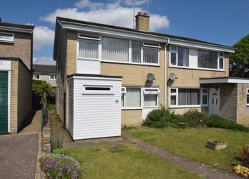 Thumbnail 4 bedroom semi-detached house for sale in Victory Close, Bury St. Edmunds