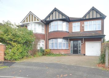 Thumbnail 4 bed semi-detached house to rent in Croft Gardens, Ruislip