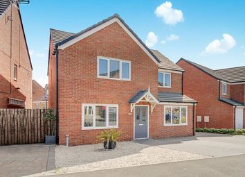 Thumbnail 4 bed detached house for sale in Sunningdale Road, Ashington