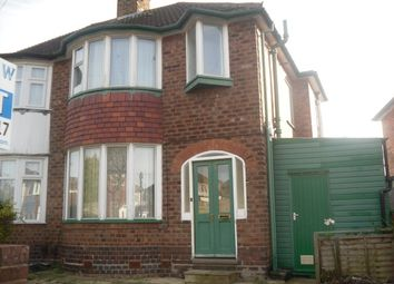 Thumbnail 3 bed semi-detached house to rent in Dorrington Road, Great Barr, Birmingham