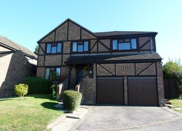 Thumbnail 5 bed detached house to rent in Owlsmoor, Sandhurst