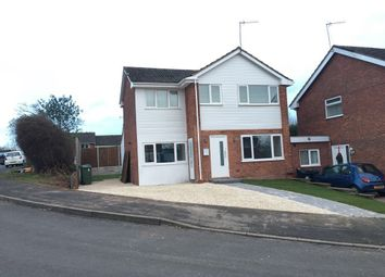 Thumbnail 4 bed detached house for sale in Hicks Close, Woodloes, Warwick