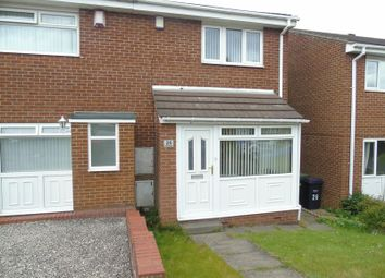 Thumbnail 2 bed semi-detached house to rent in Rosedale Road, Crawcrook, Ryton