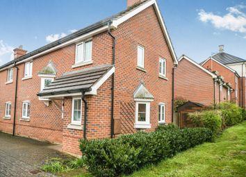 Thumbnail 3 bed semi-detached house for sale in De Port Gardens, Chineham, Basingstoke