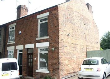 Thumbnail 2 bed end terrace house for sale in Cinder Road, Somercotes, Alfreton