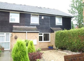 Thumbnail 2 bed terraced house to rent in The Covey, Pound Hill, Crawley, West Sussex